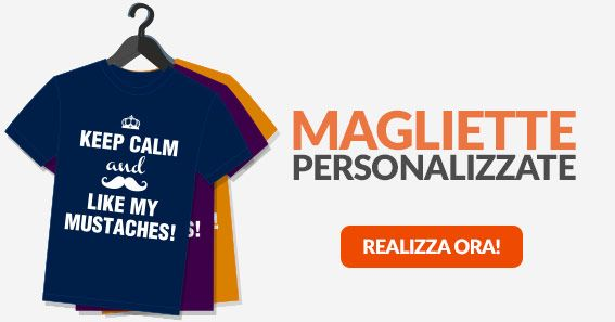 TSHIRT PERSONALIZZATE